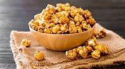 Popcorn může mít mnoho příchutí.