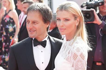 Daniela Peštová s manželem Palem Haberou