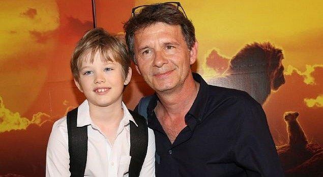 Jan Šťastný se synem.
