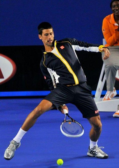 Novak Djokovic je nevyčerpatelnou studnicí legrace a zábavy