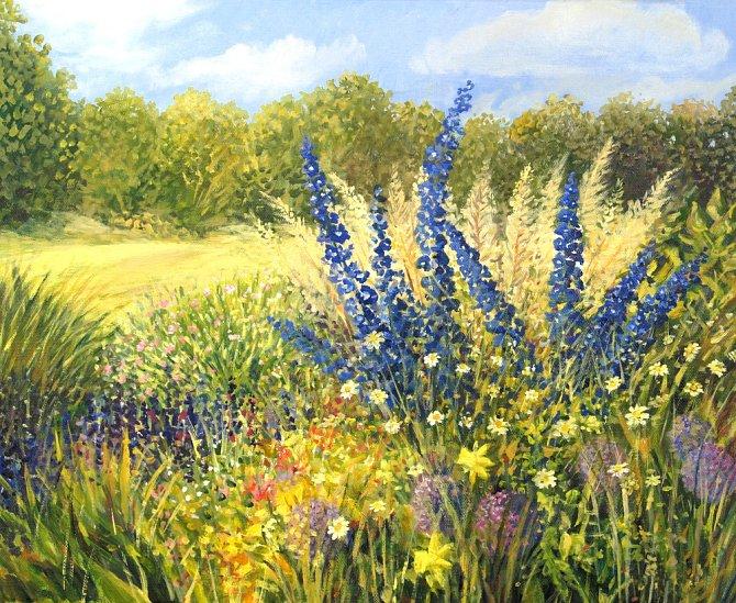 Květinové obrazy malířských mistrů promlouvaly skrytě díky květomluvě.
