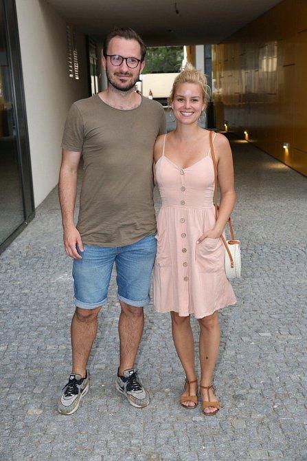 Patricie Solaříková s manželem