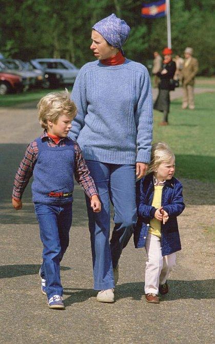 Princezna Anna s dětmi