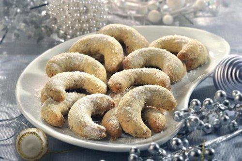 Velký plán vánočního pečení