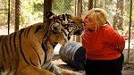 Seniorka z Texasu má doma tygra.