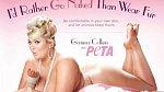 Tito slavní se svlékli pro organizaci PETA - Gemma Collins