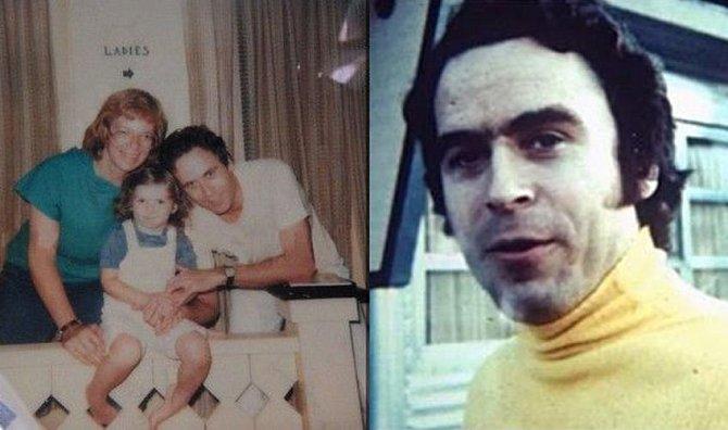 Ted Bundy s rodinou