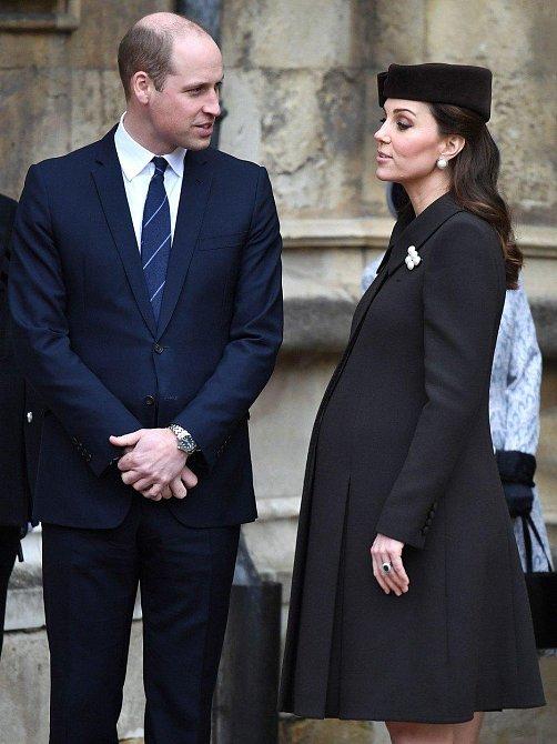 Poslední fotografie Kate před jejím třetím porodem.