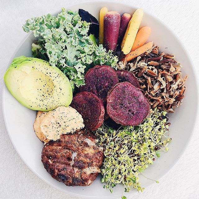 Zdravé jídlo si dá ráda.