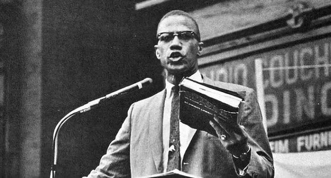 Bojovník za práva černých Malcolm X