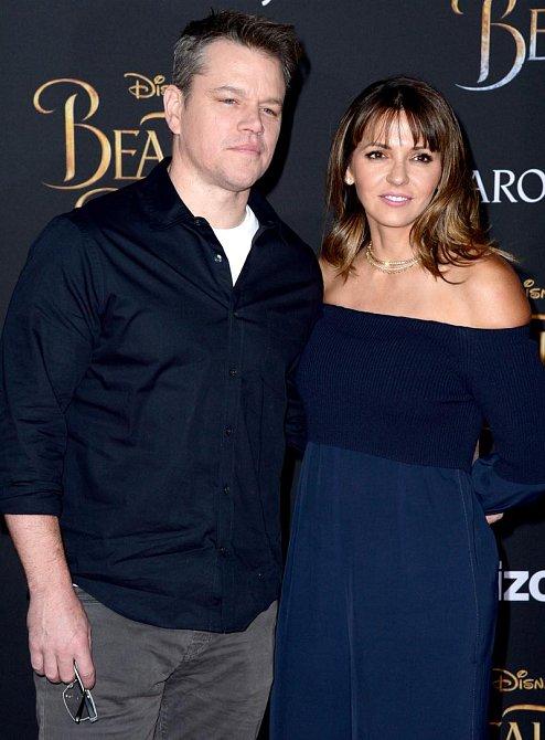 Luciana Bozán Barroso a Matt Damon