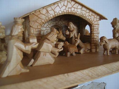 Výstava loštického betlému