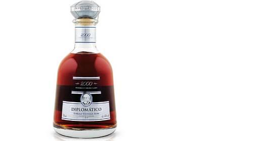 Limitované edice ultra prémiového rumu Diplomático Single Vintage 2000