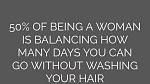 Mytí v předklonu: Toto je velký nešvar a děje se tak bohužel často. Mytí hlavy v předklonu nad vanou, vám ale nezaručí správné omytí celé pokožky hlavy.