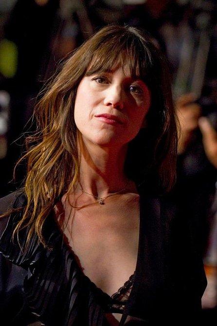 Charlotte Gainsbourg, francouzská herečka a zpěvačka
