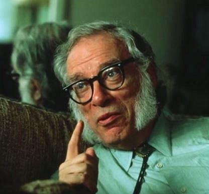 Isaac Asimov (1920-1992) - Americký spisovatel a biochemik se nejvíc proslavil svou sci-fi beletrií a populárně naučnými knihami. Až 10 let po Asimově smrti jeho druhá žena, americká autorka sci-fi Janet O. Jeppson odhalila, na co zemřel.