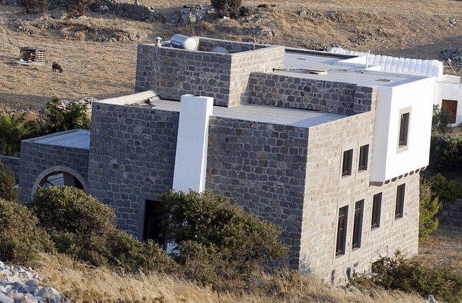 Dům v Řecku je její naprosto nejoblíbenější.