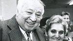 Miroslav Horníček se ženou