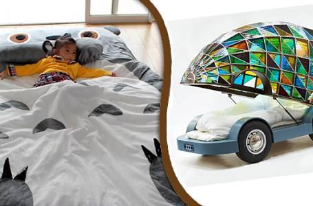 Kuriózní postele