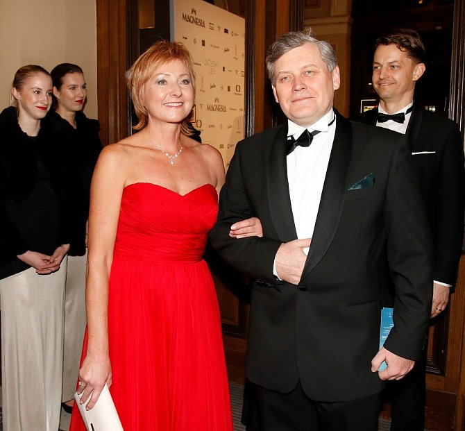Miroslav Hanuš s manželkou Janou