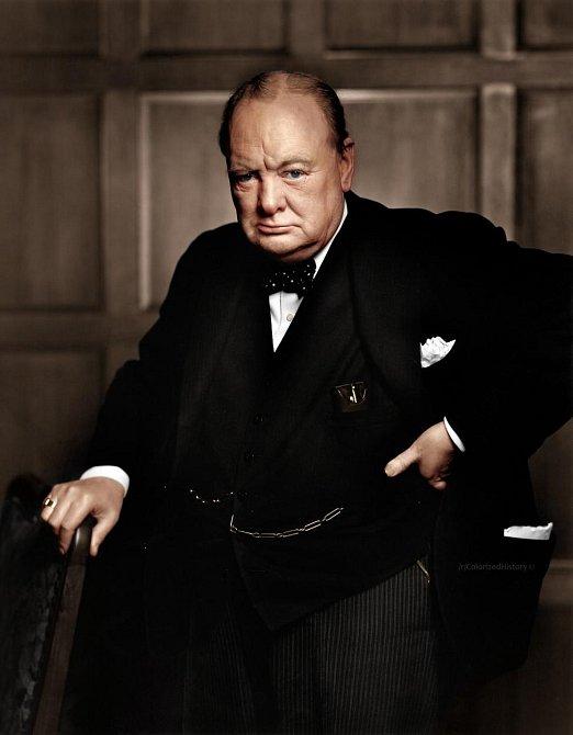 """Winston Churchill: """"Nudím se z toho všeho."""""""