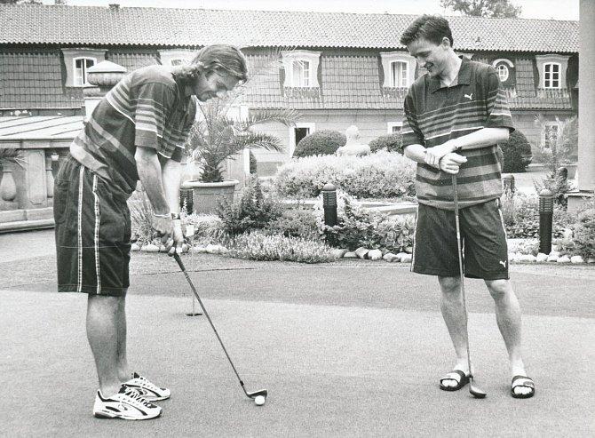 Patrik Berger podlehl vedle fotbalu i golfu.