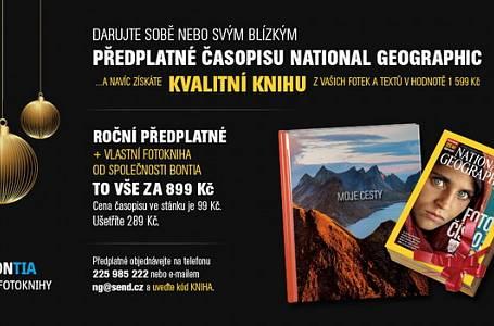 Darujte sobě nebo svým blízkým předplatné časopisu National Geographic