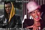 Herečka Grace Jones coby May Day