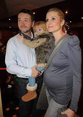 Vlasta Korec s manželkou a dcerou