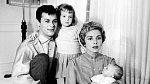 Tony Curtis s rodinou