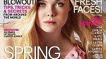 Elle Fanning na titulní stránce časopisu Marie Claire