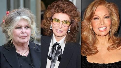Raquel Welch, Sophia Loren a Brigitte Bardot: Jak stárnou filmové sexsymboly?