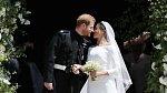 Svatba Harryho a Meghan byla událostí minulého roku.