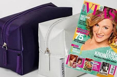 Časopis Vlasta s dárkem pro každou ženu