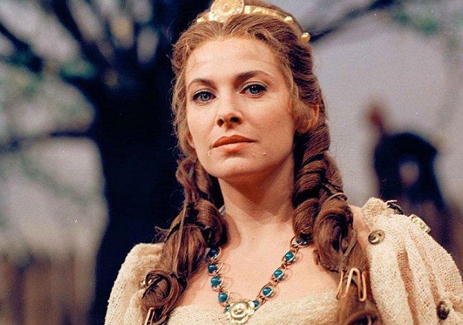 Milena Dvorská v televizním snímku Libuše