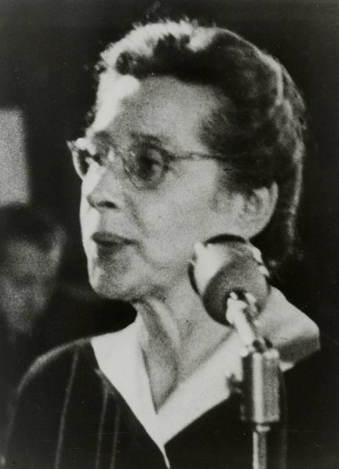 Žena, která za své ideály bojovala až do konce.