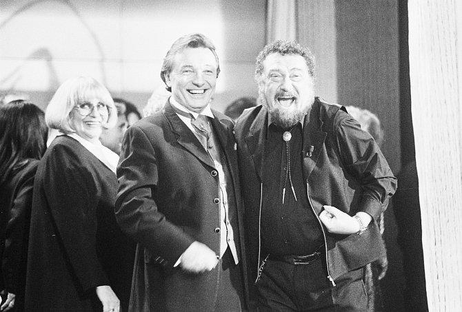 Karel Gott a Waldemar Matuška si podmanili americký Nashville.