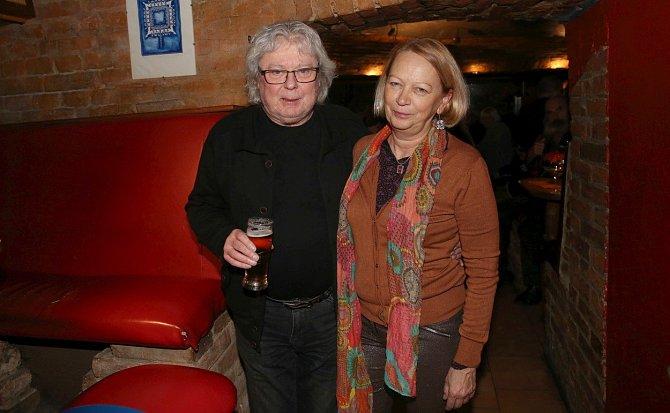 Vladimír Mišík s manželkou