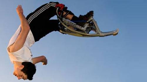 Skákací boty  Fit dva metry nad zemí  f1d234d441