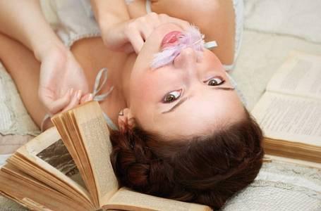 Test: Jste závislá na knihách?