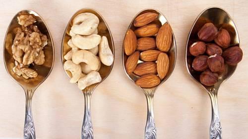 Ořechy 5 x pro naše zdraví