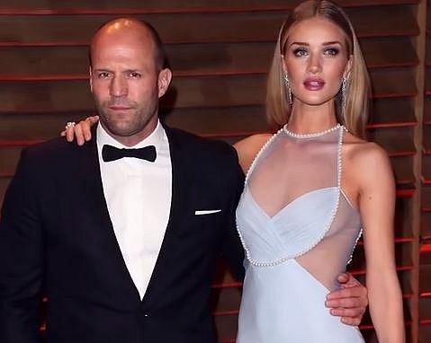 Jason Statham a Rosie Huntington-Whiteley