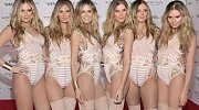 V tomto případě Heidi najala 5 modelek, které se převlékly za... Heidi!