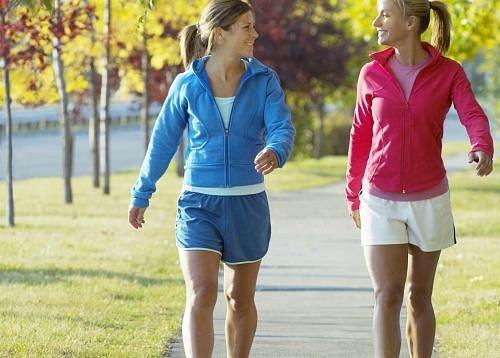 Cvičení, Chůze, Sport