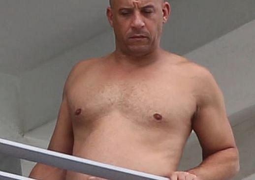 A Vin Diesel dnes...