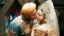 Ivan a Nastěnka v pohádce Mrazík