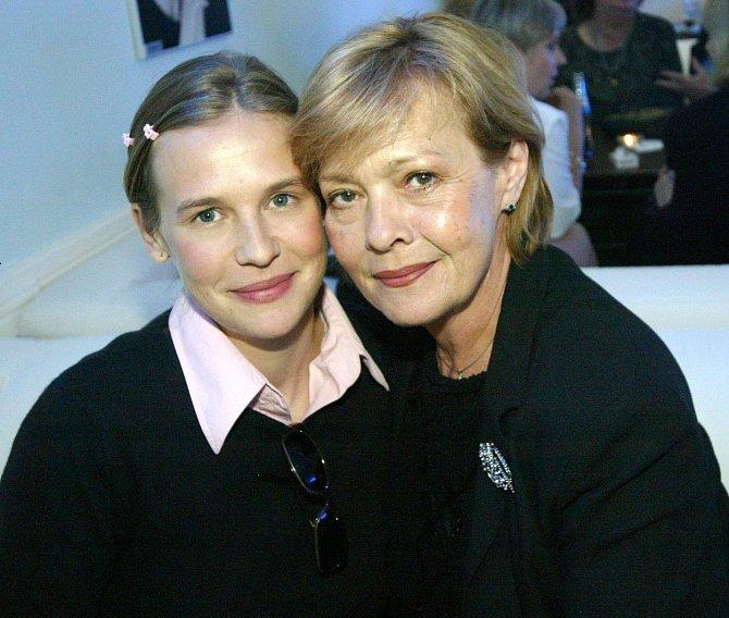 Jana Šulcová s dcerou Rozálií