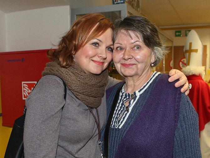 Kamila Špráchalová a maminkou Ivanou