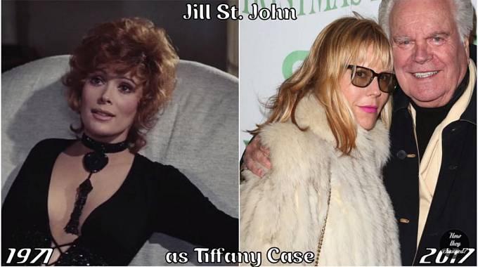 Herečka Jill St. John coby Tiffany Case