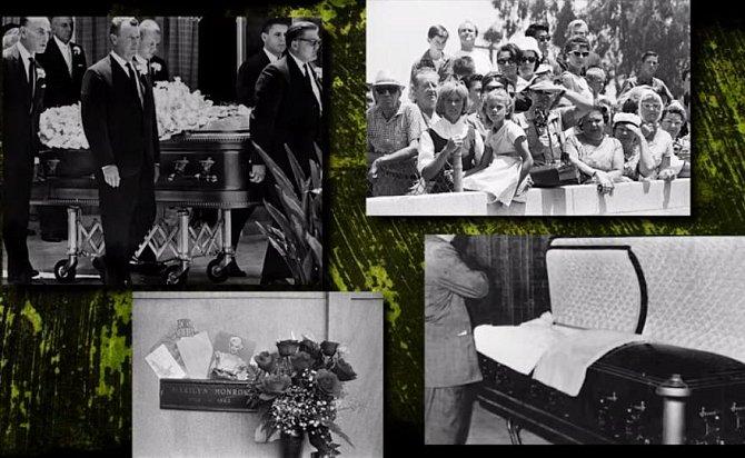 Takto pohřeb zachytil tisk.